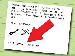 How To Do A Simple Resume For A Job by 5 Ways To Write A Cover Letter Wikihow