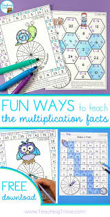 engage and motivate with multiplication activities that are fun