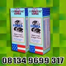cobra oil asli pembesar alat vital minyak cobra super usa obat