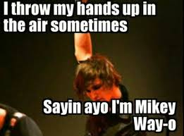 Mikey Meme - 32 best mikey way memes images on pinterest my chemical romance