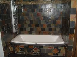 Slate Tile Bathroom Shower Bathroom Slate Tile