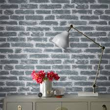 industrial style with 3d brick effect wallpaper graham u0026 brown uk
