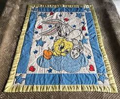 Looney Tunes Crib Bedding Vintage Looney Tunes Babies Crib Blanket Quilt Nursery Bedding