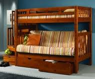 Bunk Beds With Futons  Couch Bunk Over Futon Orlando  Tampa - Futon couch bunk bed