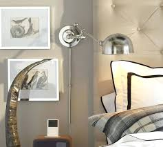Swing Arm Wall Sconces For Bedroom Sconce Extraordinary Plug In Wall Sconces Bedroom With Simple