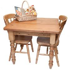 Small Reclaimed Pine Kitchen Table - Small pine kitchen table