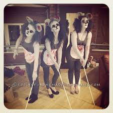 Scariest Halloween Costumes 25 Blind Mice Costume Ideas Blind