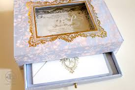 wedding invitations in a box boxed invitations new york luxury wedding invitations