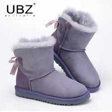 womens boots australian sheepskin ubz s shoes sheepskin leather boots winter australian