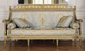 canape louis xvi georges jacob canapé siège du salon des jeux de louis xvi à