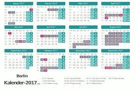 Kalender 2018 Hessen Ausdrucken Ferien Berlin 2017 Ferienkalender übersicht