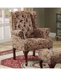 Wingback Accent Chair Deals On Coaster Furniture Lancaster Wingback Accent Chair