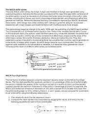 the naca airfoil series