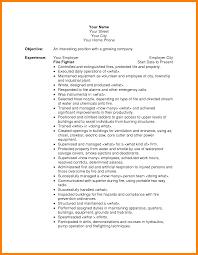 Firefighter Job Description Resume by Choose Entry Level Firefighter Resume Firefighter Resume Builder