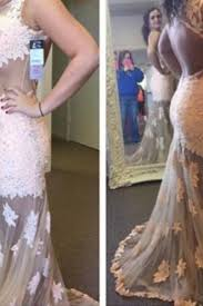 white lace prom dresses on luulla
