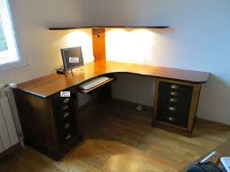 bureau d angle en bois massif bureau d angle en bois great free bureau duangle droit ikea galant