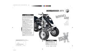 can am bombardier ds650 user manual 136 pages