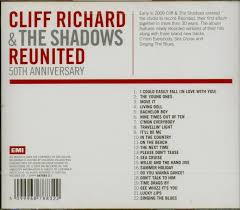 50th anniversary photo album cliff richard the shadows cd reunited 50th anniversary album