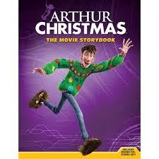 arthur christmas the movie storybook book 9781402792410