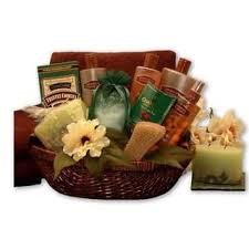 spa basket spa relaxation baskets for less overstock