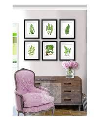 vintage fern print vintage botanical prints set fern