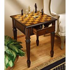 Game Room Furniture Amazon Com Design Toscano Walpole Manor Gaming Chess Table Home