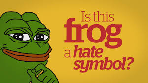 pepe the frog joins swastika and klan hood in anti defamation