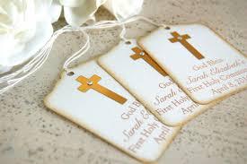 baptism favor gold baptism favor tags communion favor tags gold