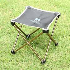 Best Hunting Chair Jeelet Portable Lightweight Folding Camping Stool Aluminum Fold Up