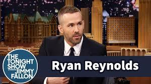 ryan reynolds u0027 baby is allergic to sleep youtube