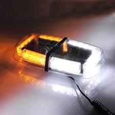 magnetic base strobe light koolertron led strobe amber emergency warning mini strobe light bar