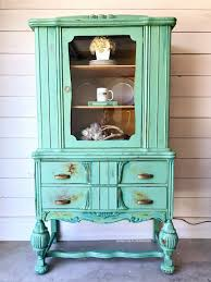 painted furniture painted furniture makeover china hutch rawhyde furnishings