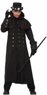 Men Black Halloween Costume Magic Black Cats Witches Wizard Halloween Costumes