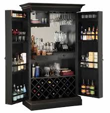 furnitures using mesmerizing locking liquor cabinet for alluring