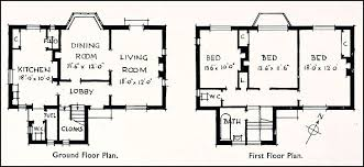 1930s Bungalow Floor Plans Opulent Design 15 Floor Plans For Small Green Homes Plans For