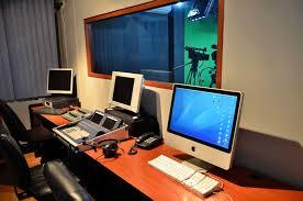 tv studio desk television studio organizadora de eventos