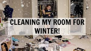 cleaning my room winter fall edition youtube