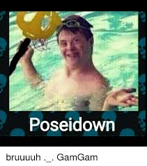 Meme Down - poseidown bruuuuh gamgam meme on me me