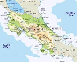 Caribbean Maps by Map Of Costa Rica Every Map You Need To Plan Your Trip To Costa Rica