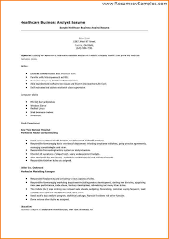 Sample Healthcare Resume by 9 Business Resume Format Worker Resume