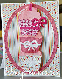 elizabeth craft designs cupcake birthday card u2013 debwaycreations