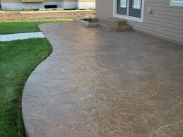 Textured Concrete Patio by Stamped Concrete Aurora Oh Decorative Concrete