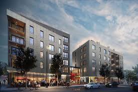 egleston square apartment complex construction near orange line