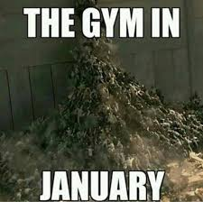 It Has Begun Meme - the apocalypse has begun the gym in january funny funnymeme