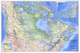 National Geographic Map National Geographic Canada Map 1985 Maps Com