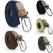 woven canvas belt u2013 elastic knitted stretch u2013 got kool dealz