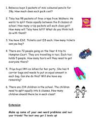 ideas collection division word problems year 6 worksheets in