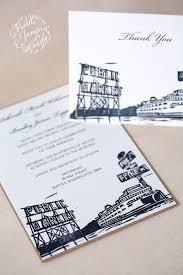 pike place market wedding invitation