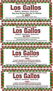 Old Country Buffet Printable Coupons by Los Gallos Authentic Mexican Restaurant And Sports Cantina