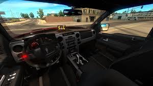 Ford Raptor Svt Truck - ford f150 raptor svt interior v1 2 for ats american truck